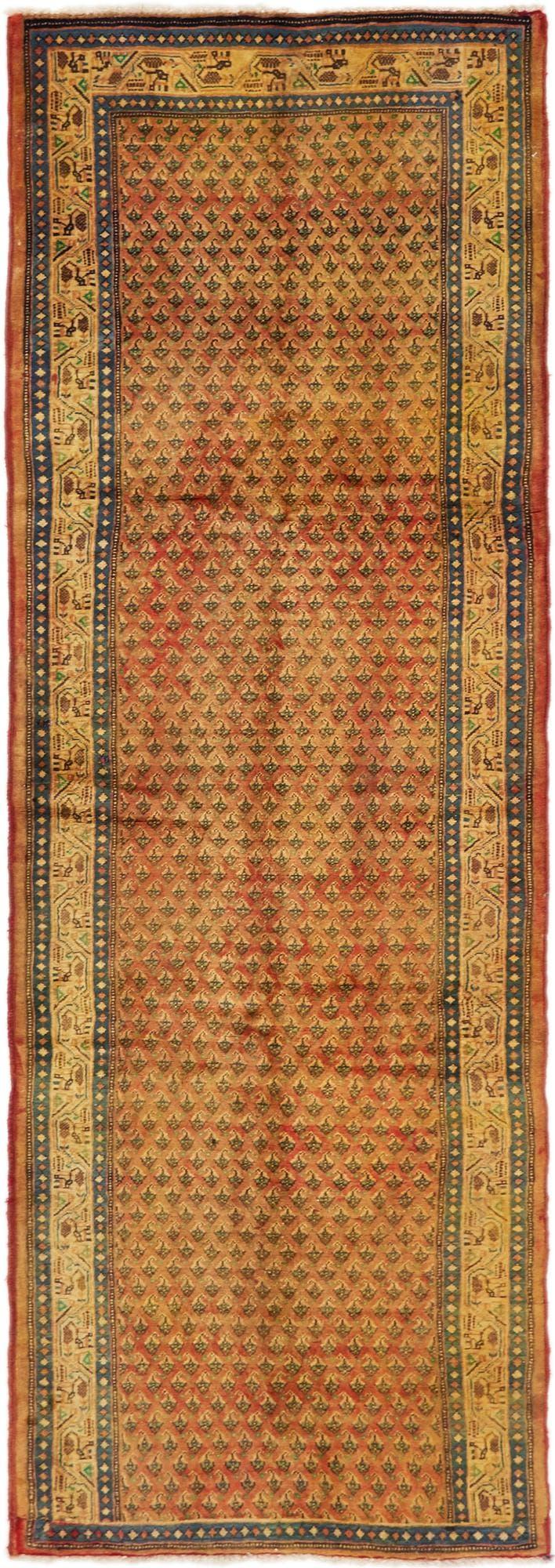 3' 3 x 9' 7 Botemir Persian Runner Rug main image