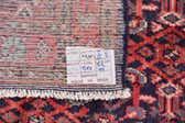 3' 9 x 10' 3 Hossainabad Persian Runner Rug thumbnail