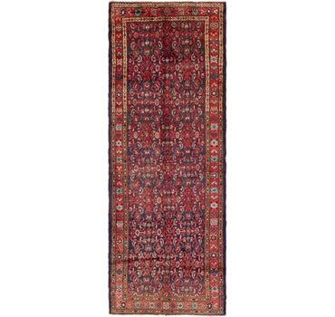 3' 9 x 10' 3 Hossainabad Persian Runner Rug main image