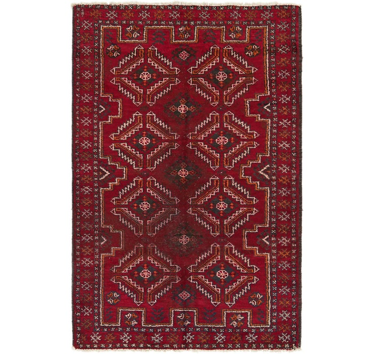 122cm x 183cm Balouch Persian Rug