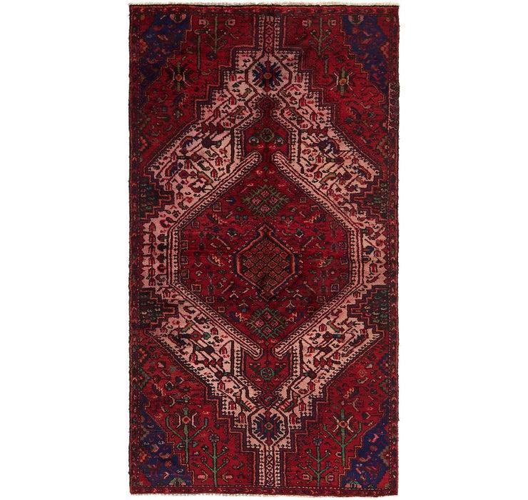 4' x 7' 4 Hamedan Persian Rug