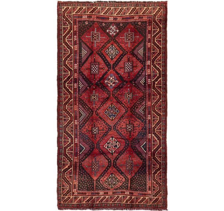 4' 10 x 9' 2 Shiraz Persian Runner Rug