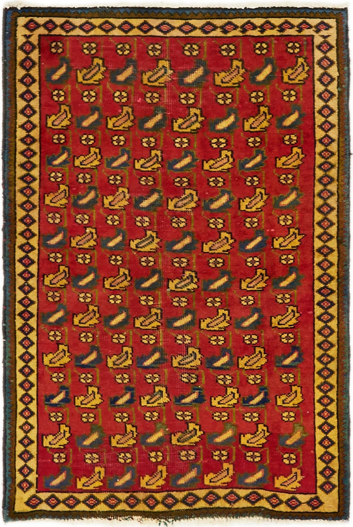 3' x 4' 7 Tabriz Persian Rug main image