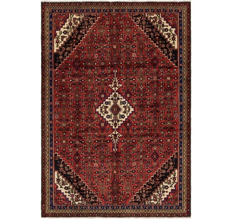 213cm x 305cm Hamedan Persian Rug