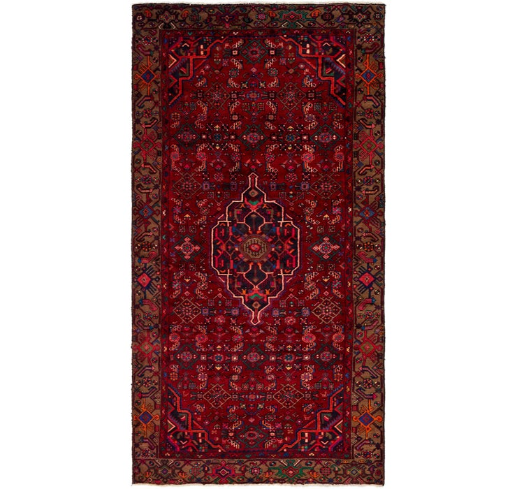 4' 10 x 9' 4 Koliaei Persian Runner ...