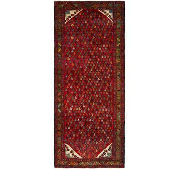 Image of 3' 8 x 9' 6 Varamin Persian Runner ...