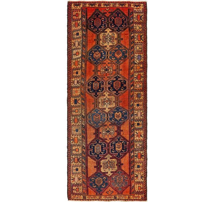 132cm x 353cm Shiraz Persian Runner Rug