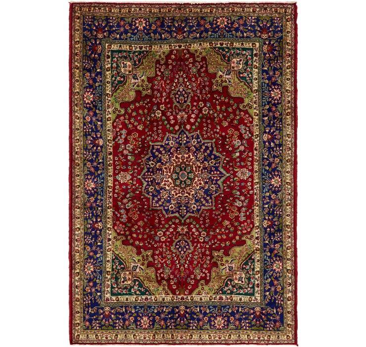 6' 10 x 10' 4 Tabriz Persian Rug