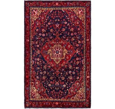 6' 7 x 10' 8 Hamedan Persian Rug main image