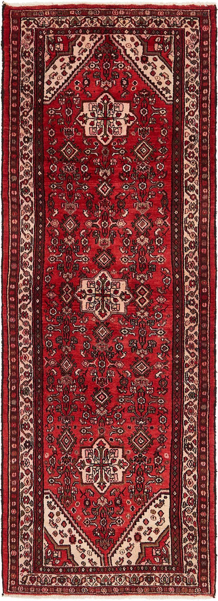 3' 7 x 10' 7 Hamedan Persian Runner Rug main image