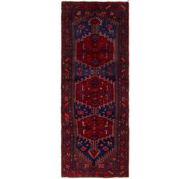 Image of 3' 9 x 10' Zanjan Persian Runner Rug