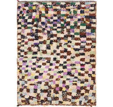 Image of 4' 9 x 6' 2 Moroccan Rug
