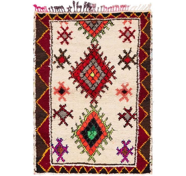 4' 8 x 6' 6 Moroccan Rug