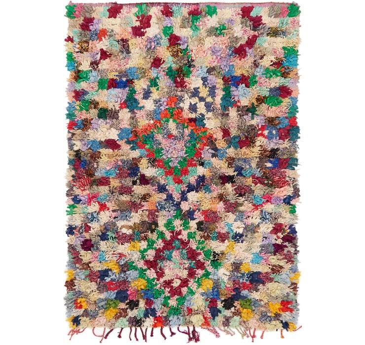 142cm x 213cm Moroccan Rug