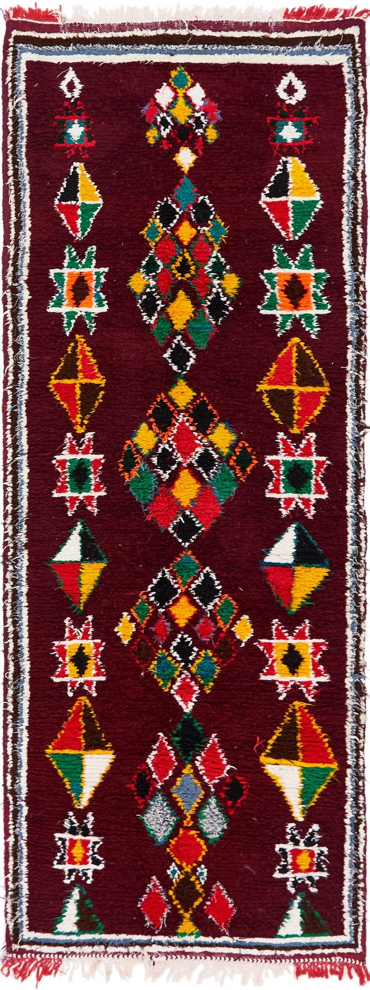 3' 7 x 10' 3 Moroccan Runner Rug main image