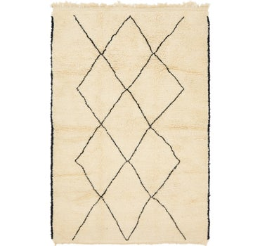 6' 4 x 9' 9 Moroccan Rug main image
