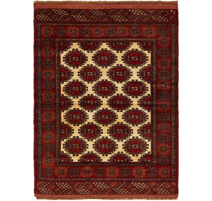 3' 7 x 4' 10 Bokhara Oriental Rug