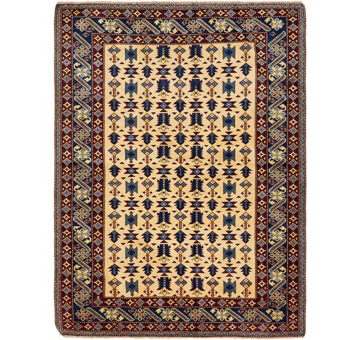 160cm x 213cm Kazak Oriental Rug