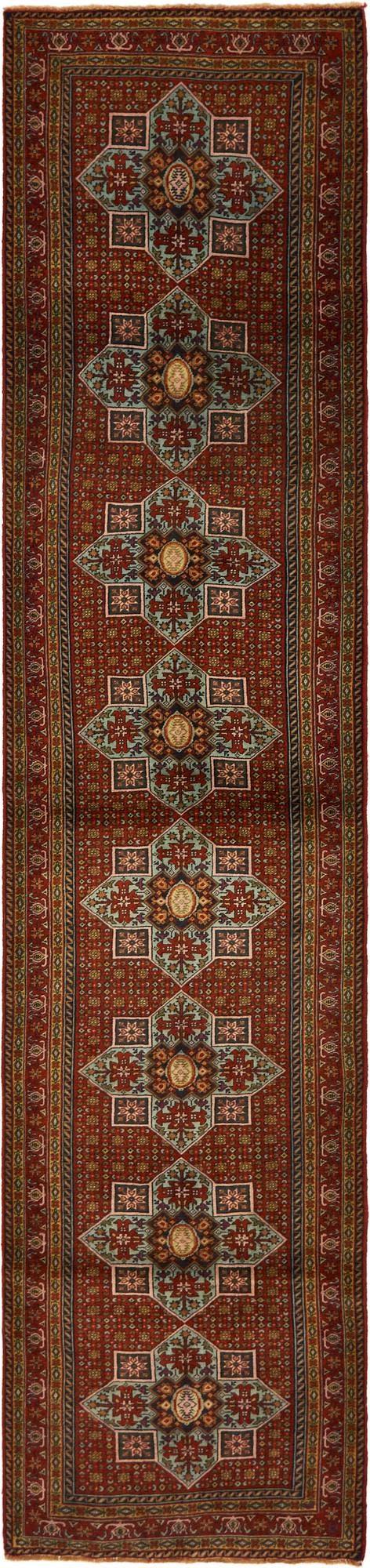 2' 10 x 13' 2 Ardabil Persian Runner Rug main image