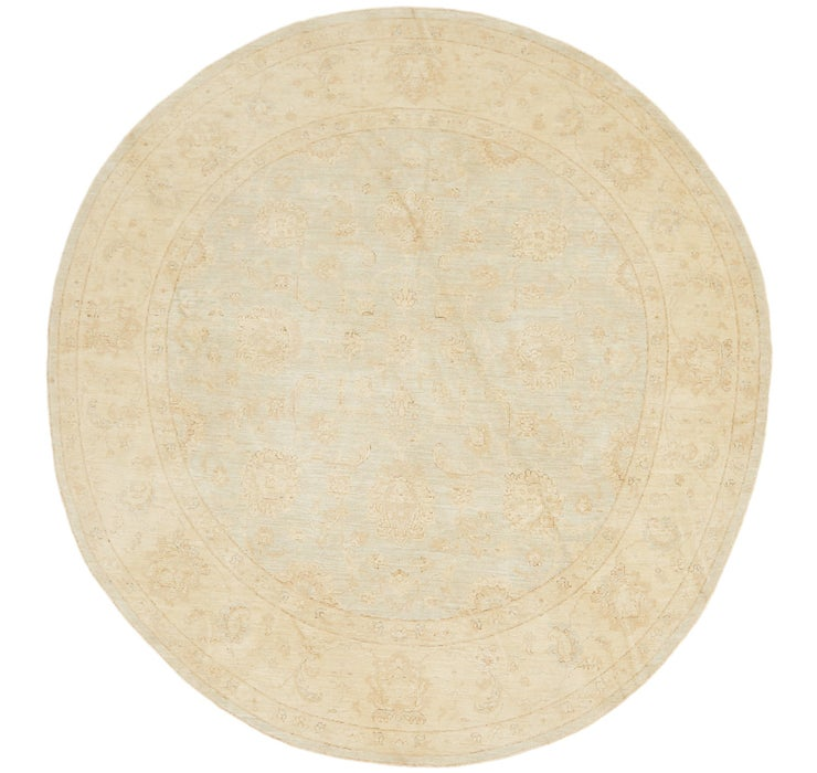 183cm x 295cm Peshawar Ziegler Oval Rug