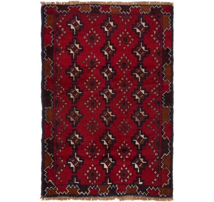 90cm x 137cm Balouch Persian Rug