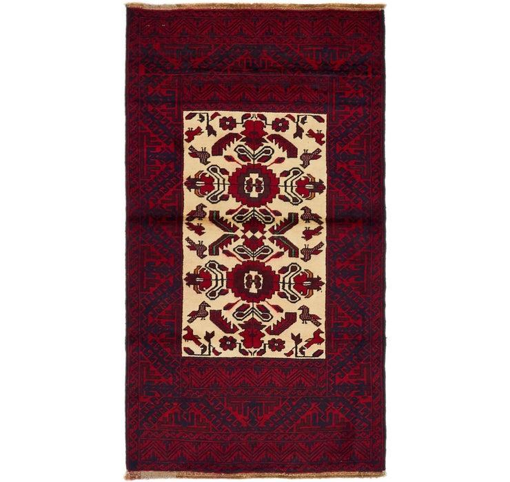 85cm x 157cm Balouch Persian Rug