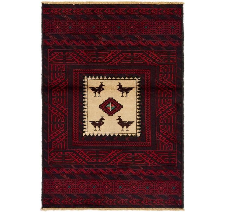 95cm x 140cm Balouch Persian Rug