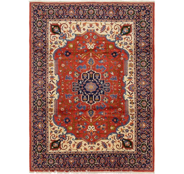 8' 9 x 12' 2 Varamin Persian Rug
