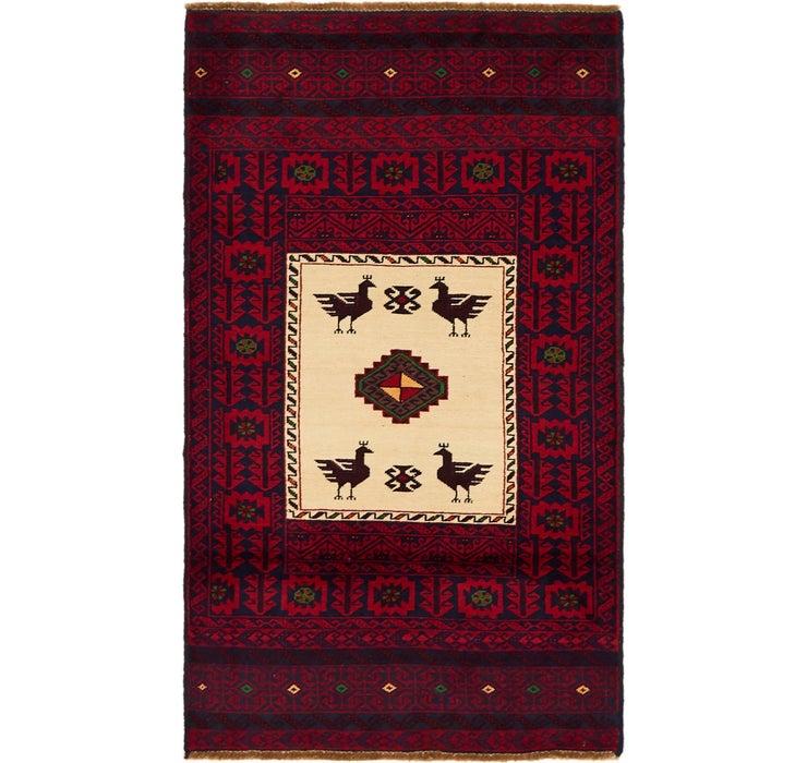 90cm x 160cm Balouch Persian Rug