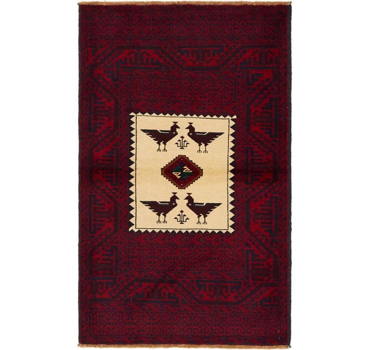 97cm x 157cm Balouch Persian Rug