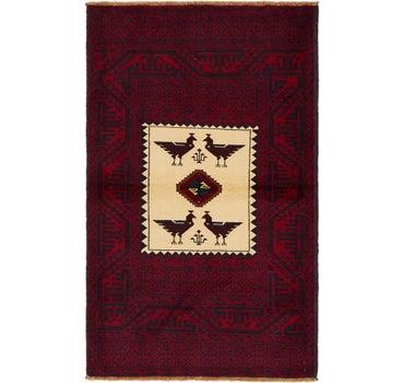 3' 2 x 5' 2 Balouch Persian Rug main image