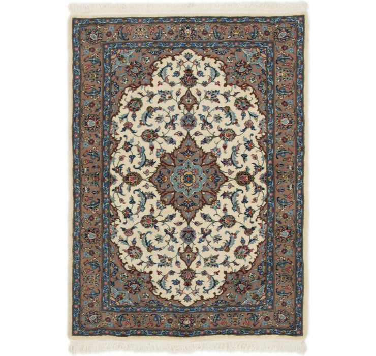 100cm x 137cm Isfahan Persian Rug