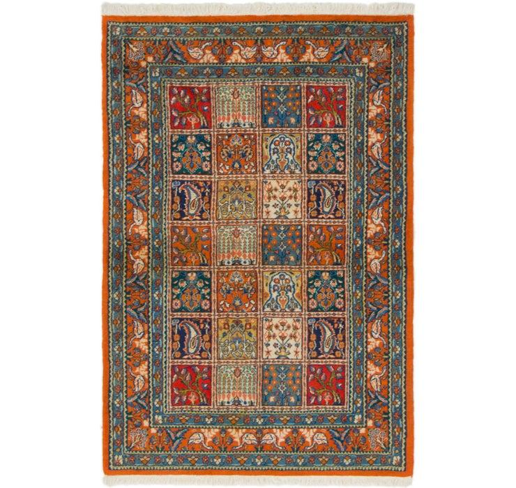 100cm x 152cm Qom Persian Rug