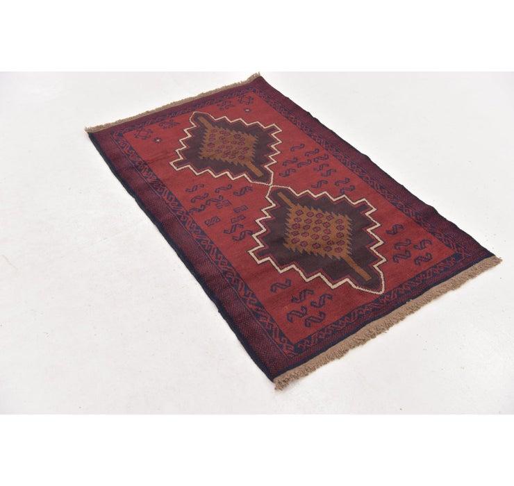 90cm x 147cm Balouch Persian Rug