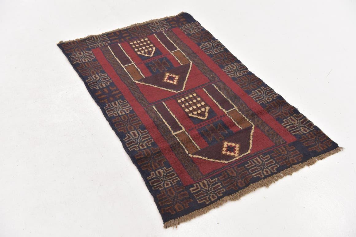 2' 10 x 4' 5 Balouch Persian Rug main image