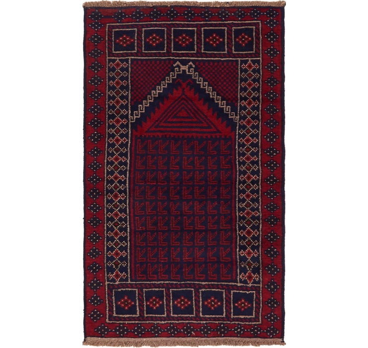 80cm x 152cm Balouch Persian Rug