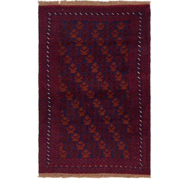 85cm x 142cm Balouch Persian Rug