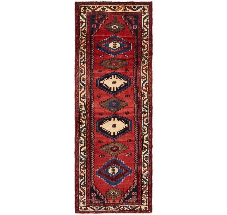 3' 4 x 9' 9 Chenar Persian Runner Rug