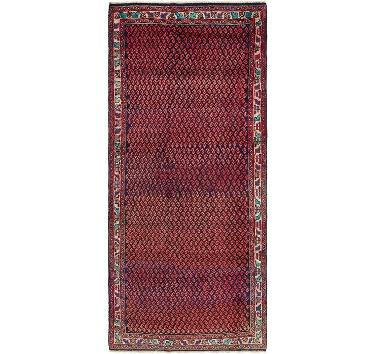 4' 2 x 9' 9 Mahal Persian Runner Rug