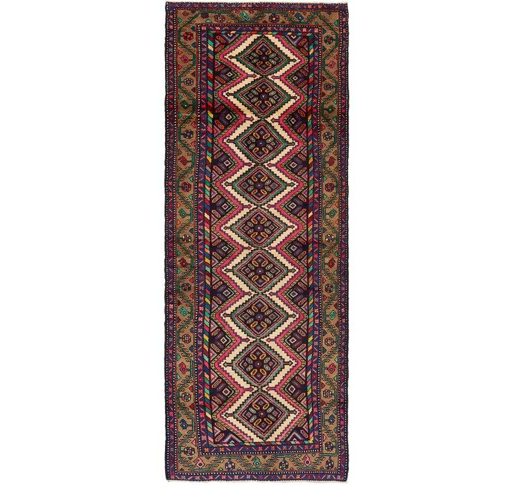 102cm x 312cm Chenar Persian Runner Rug