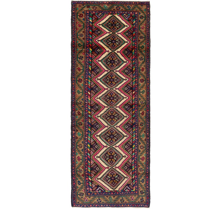 3' 4 x 10' 3 Chenar Persian Runner Rug