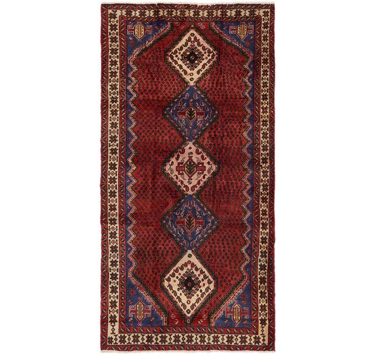 145cm x 292cm Chenar Persian Runner Rug