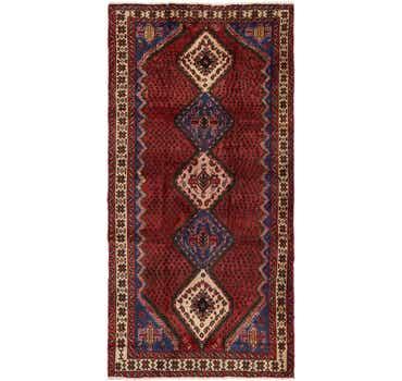 Image of 4' 9 x 9' 7 Chenar Persian Runner Rug