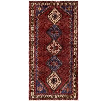 4' 9 x 9' 7 Chenar Persian Runner Rug main image