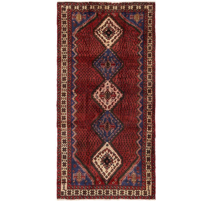 Image of 4' 9 x 9' 7 Chenar Persian Runner Rug