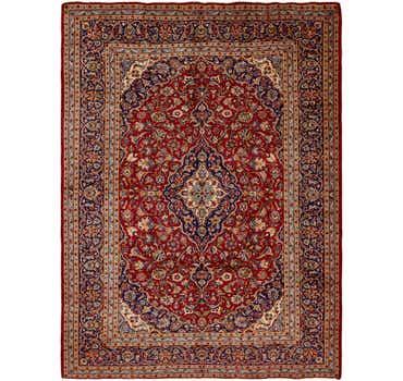 10' x 12' 10 Kashan Persian Rug