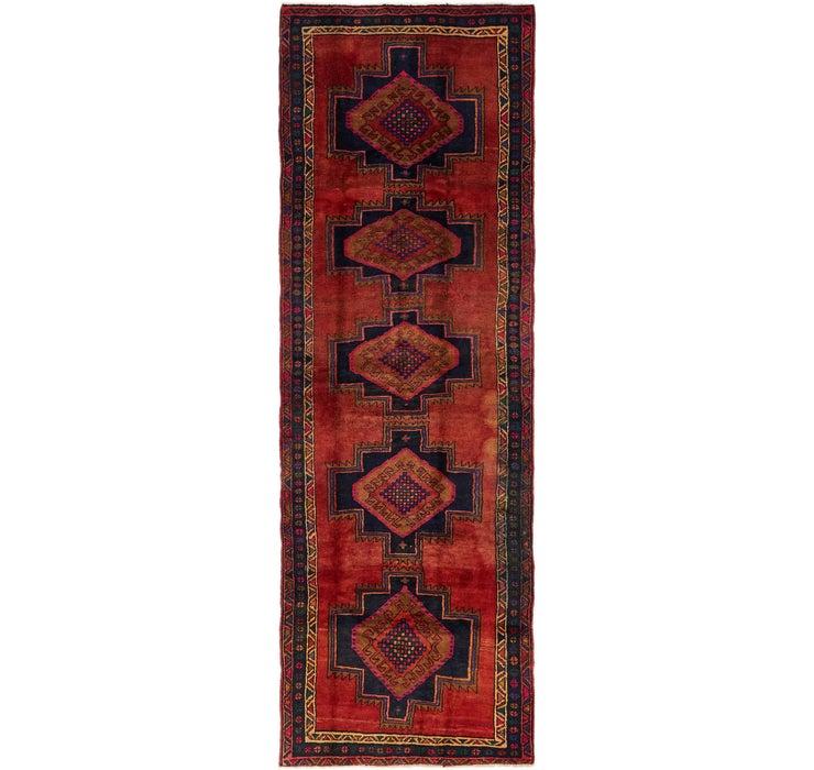 127cm x 380cm Chenar Persian Runner Rug