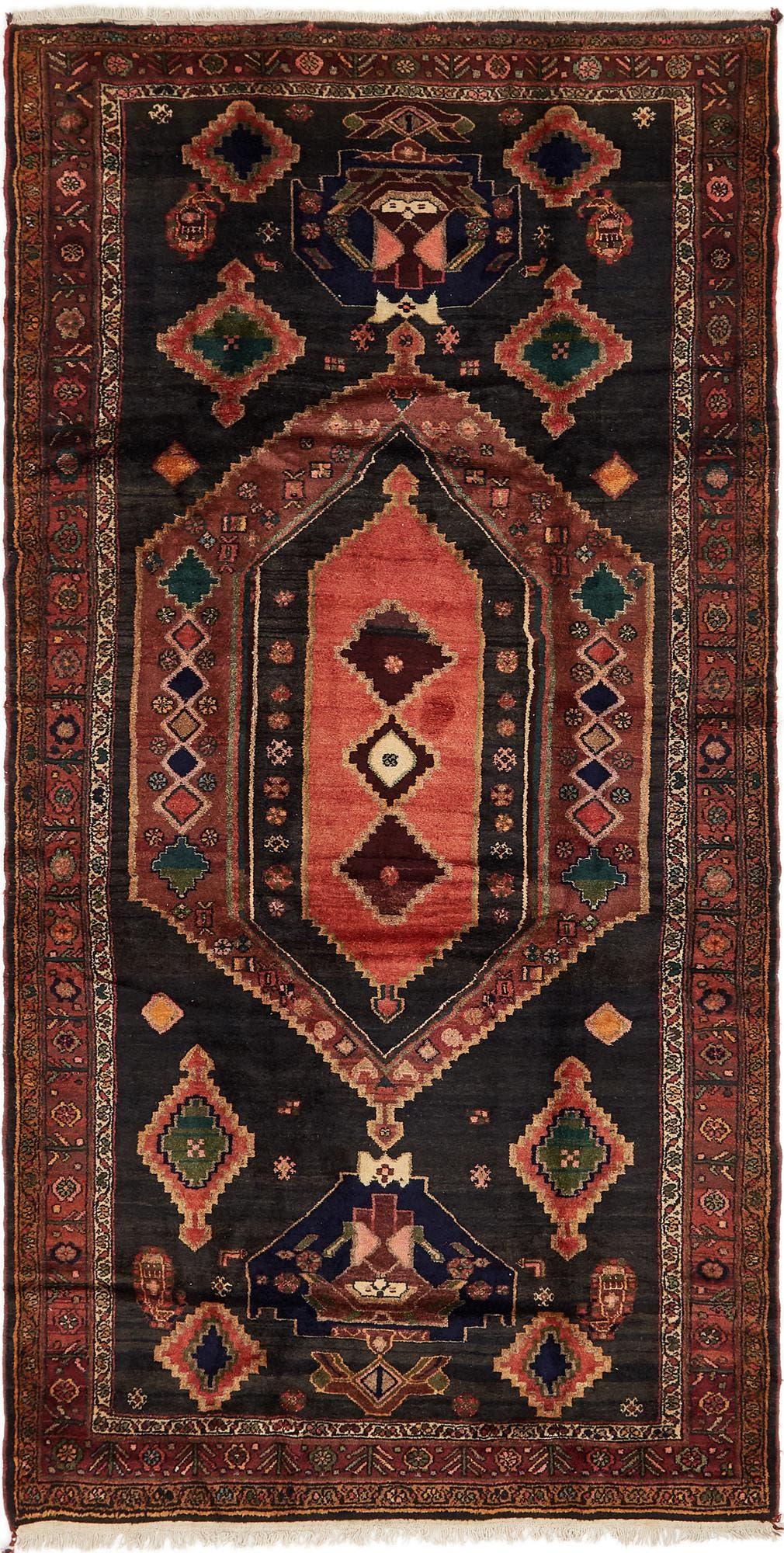 4' 10 x 10' 9 Zanjan Persian Runner Rug main image