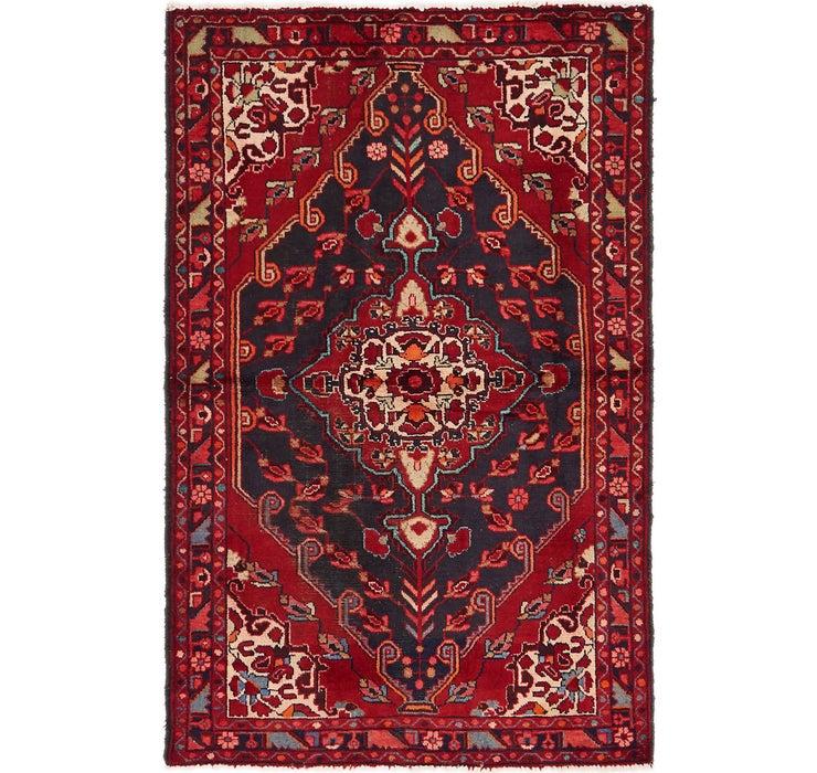 4' 3 x 6' 8 Hamedan Persian Rug