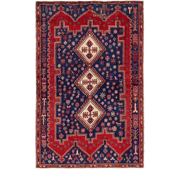 4' 5 x 7' Tuiserkan Persian Rug